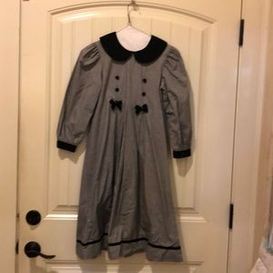 Dresses & Skirts - Lavender Blue Mini Houndstooth Dress Size 8